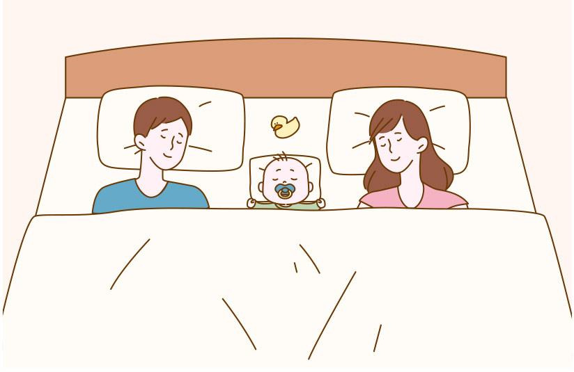 クイーンベッドの利用イメージ