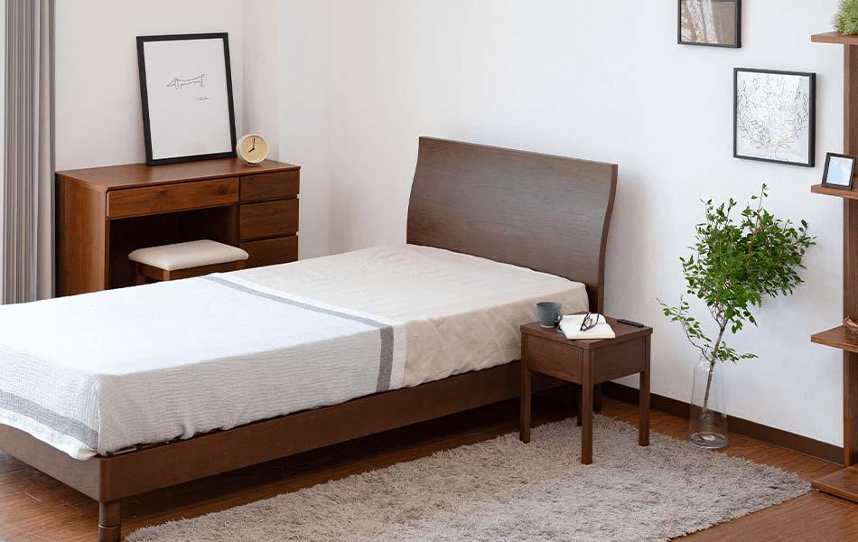 よりゆったりしたサイズのベッドをお探しの方には、セミダブルサイズやダブルサイズがおすすめです。