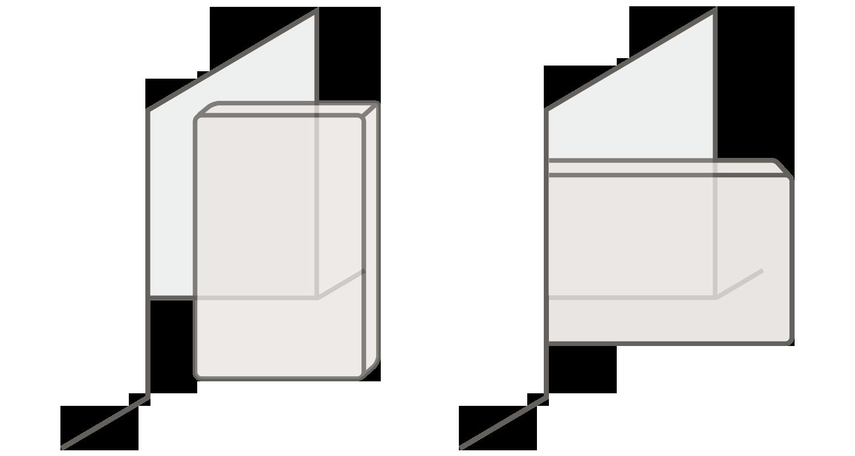 搬入口の扉の高さが搬入するマットレスの長さ以上ある場合と搬入口の扉の高さが搬入するマットレスの長さ未満の場合