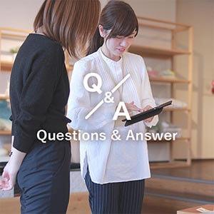 商品のことや納期・搬入、組立設置についてなど、多くのお客様から頂くご質問をまとめております。