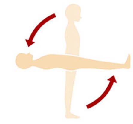 体を点で支える理想の寝姿勢