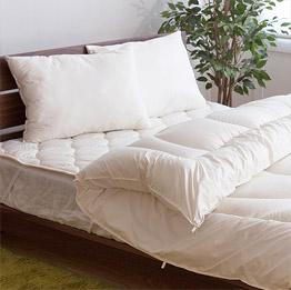 洗えるレギュラー国産寝具3点セット