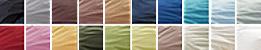 洗えるレギュラー国産寝具6点セット カラーバリエーション